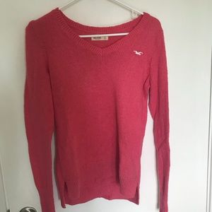 Pink Hollister sweater